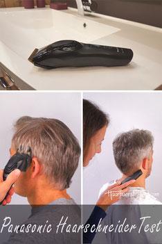panasonic haarschneider test
