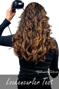 Welcher Curler für lange Haare?