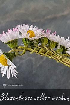 Geflochtener Zopf lange Haare