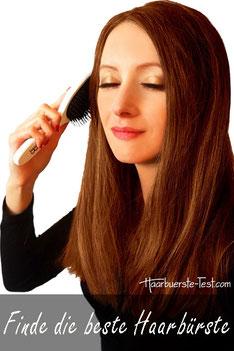 Finde die beste Haarbürste!