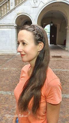 haarband mit haaren