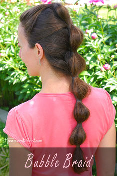 Dutch Braid schräg geflochten