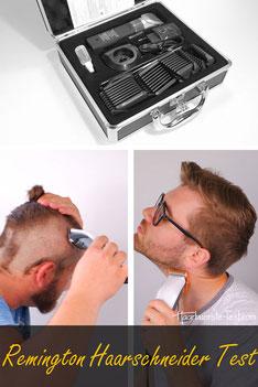 remington haarschneider test