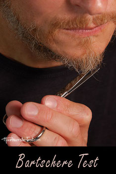 Bartscheren im Praxis Test