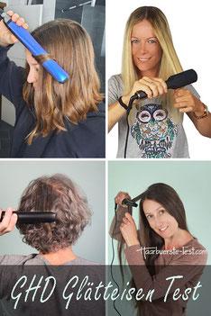 Profi haarglätter