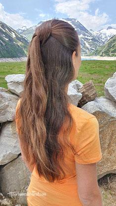 frisur offene haare