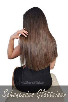schonender Haarglätter