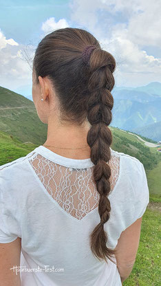 Pferdeschwanz Zopf lange Haare