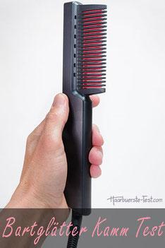 Bartglätter-Kamm im Praxis Test