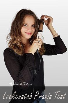 Welcher Lockenstab für lange Haare?