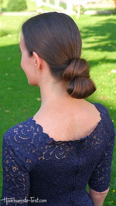 Knoten im Nacken