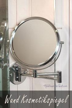 Kosmetikspiegel Wandmontage