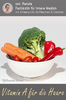 vitamin a haare