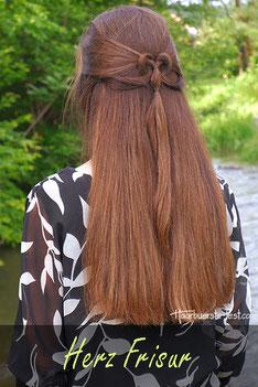 Herzige Frisur