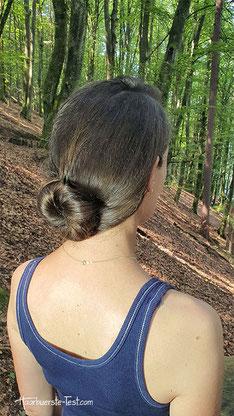 schöner haarknoten