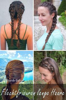 Einfache Flechtfrisuren für lange Haare