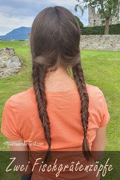 Haarschleife Haare