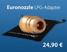 Euronozzle LPG-Adapter inklusive Tasche