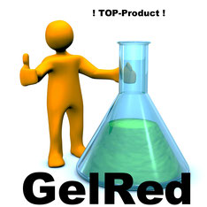 Gelred as replacment for Ethidiumbromide