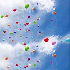 Luftballon Ballon Weitflug Firmenevent Firmenveranstaltung Massenstart