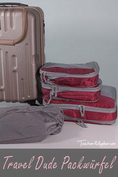Travel Dude Packwürfel im Praxis Test