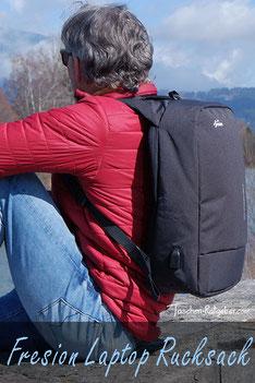 diebstahlsicherer laptop rucksack