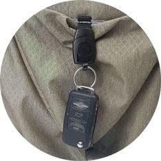 praktischer, abnehmbarer Schlüsselfinder Lässig Tasche