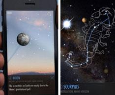 app aplicaciones gratis estrellas planetas cielo