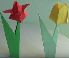 papiroflexia papirocrazy flores papel invertirenfamilia.com