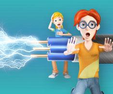 la electricidad para niños invertirenfamilia.com