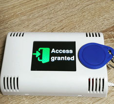 RFID access control with AZ-Touch