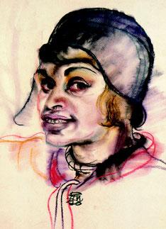 Elfriede Lohse-Wächtler, Selbstbildnis 1930