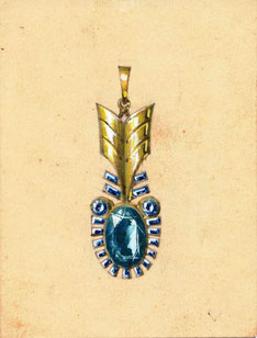 german jewellery 1930s and 1940s bijoux allemand 1930 1940