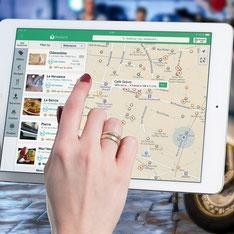 visualiser vos stats sur google maps avec e-cime.fr