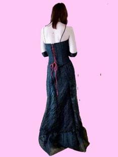 Corsagenkleid schwarz