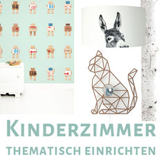 Kinderzimmer-Collage