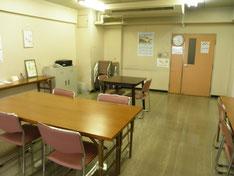 パソコン教室のお部屋。ほかの活動にも使えます