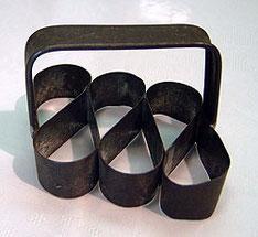 Tropfenform aus Metall**