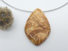 Ohrstecker aus Holz, Lärche