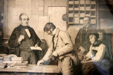 Le paiement de l'intérêt (Der Zinstag) von Albert Anker