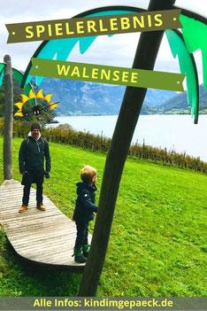 Walensee bei Zürich für Familien.