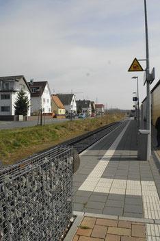 Die Gleise der Pfungstadtbahn
