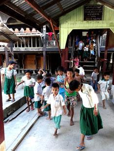 Sortie de classe à Yae Oakan.