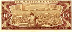 Hinten: Fidel Castro hält eine Rede 1960