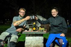 Argentinien - Südamerika - Reise - Motorrad - Honda Transalp - Camping in der Sierra de la Ventana