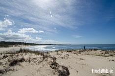 Uruguay - Südamerika - Reise - Motorrad - Honda Transalp - Parque Nacional de Santa Teresa - Blick auf den Atlantik