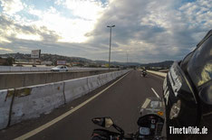 Brasilien - Südamerika - Reise - Motorrad - Honda Transalp - Fahrt durch Porto Alegre