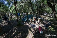 Uruguay - Südamerika - Reise - Motorrad - Honda Transalp - Camping am Ufer des Rio Uruguay in der Nähe von Fray Bentos
