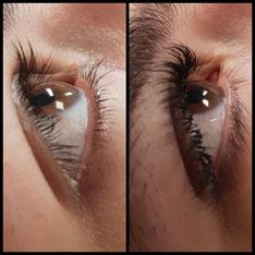 Wimpernverlängerung 3D