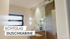 Ganzglas-Haustürvordach